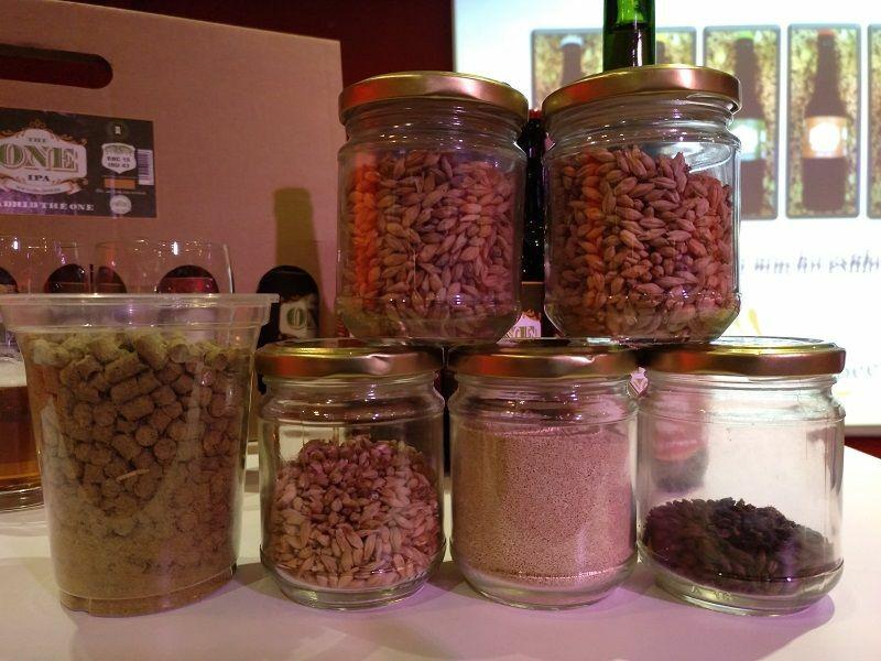 semillas de lupulo trigo y cebada