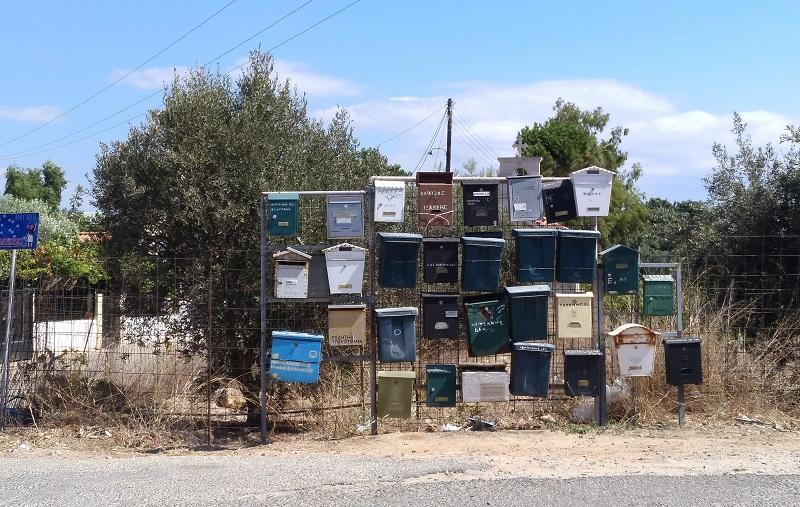 buzones en Creta