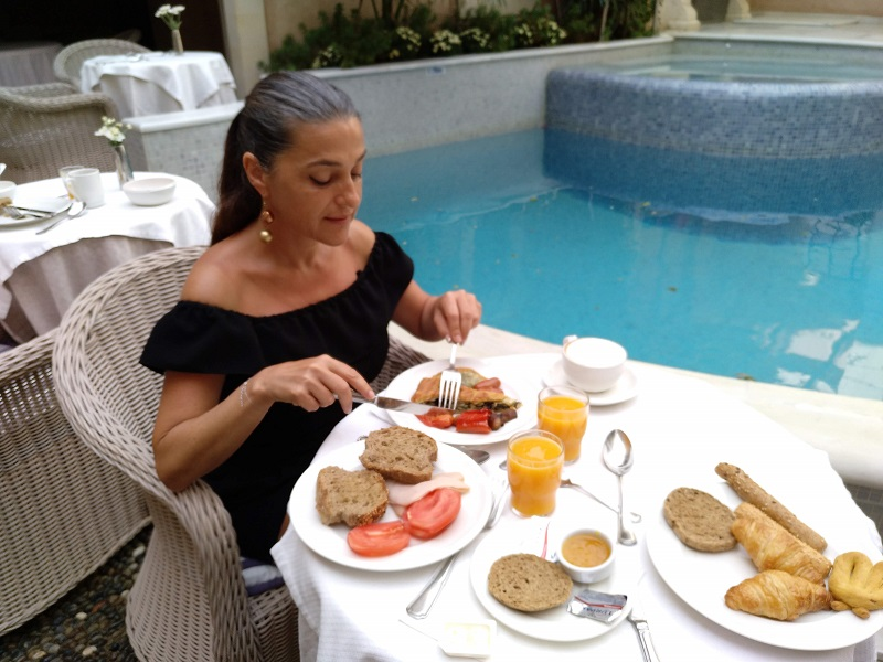 desayuno hotel Rimondi