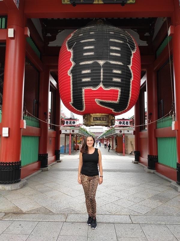 Templo sensoji vacio